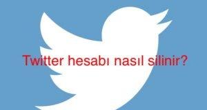 Twitter Hesabı Nasıl Silinir?