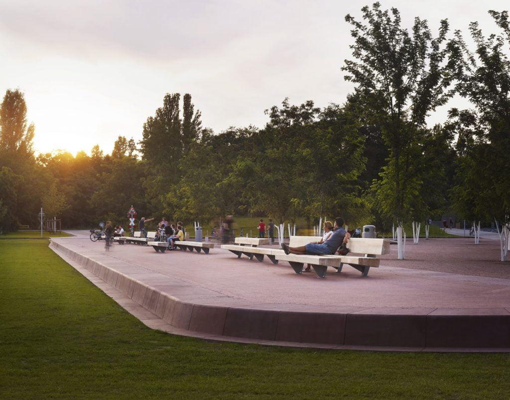 Gleisdreick Park Berlin